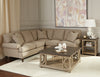 Cynthia Down Sectional - Taupe