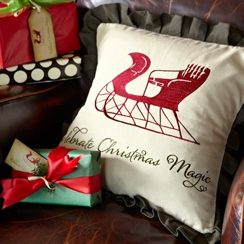 Biltmore Inspirations Christmas Pillow Cover