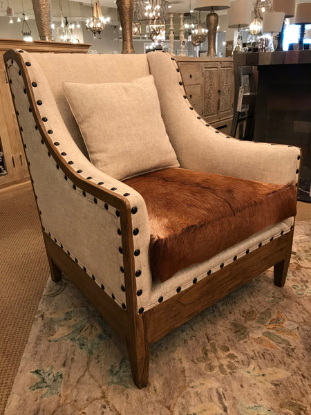 Abilene Cowhide Chair