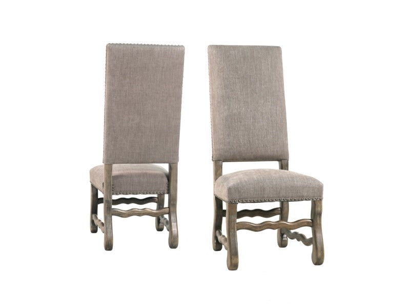 Anniston Side Chair - Granite Ash + Driftwood