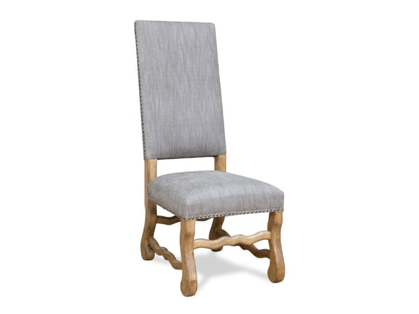 Anniston Side Chair - Granite Ash + Earth