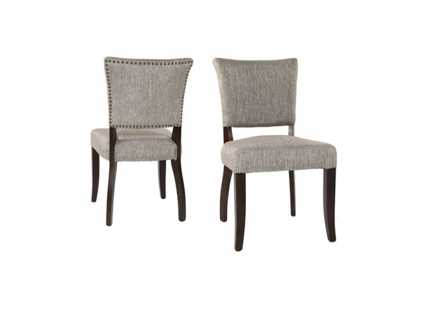 Westfield Dining Chair - Pewter + Walnut