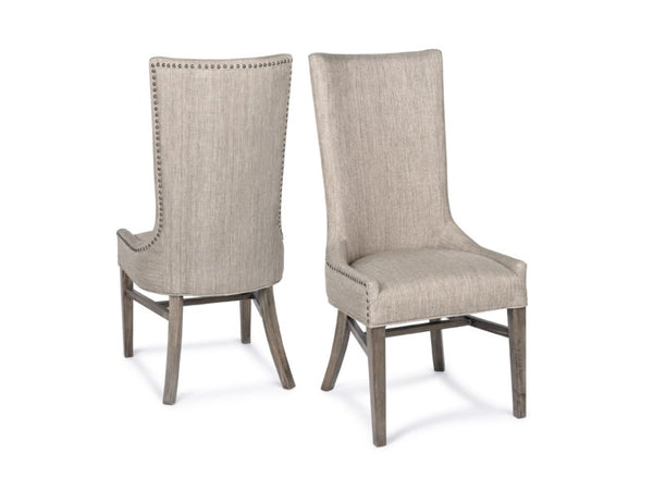 Branson Side Chair - Davis Pewter + Driftwood