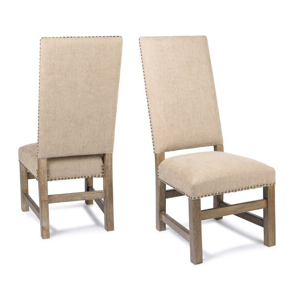 Montreat Side Chair - Granite Wheat + Driftwood