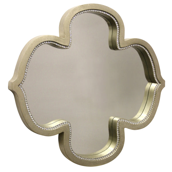 Kathleen Antique Silver Mirror