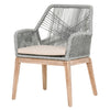 Blossom Arm Chair - Stone + Gray Rope