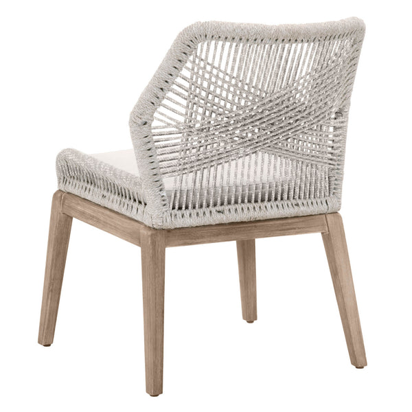 Blossom Dining Chair - Taupe & White Rope – Vintage Home ...