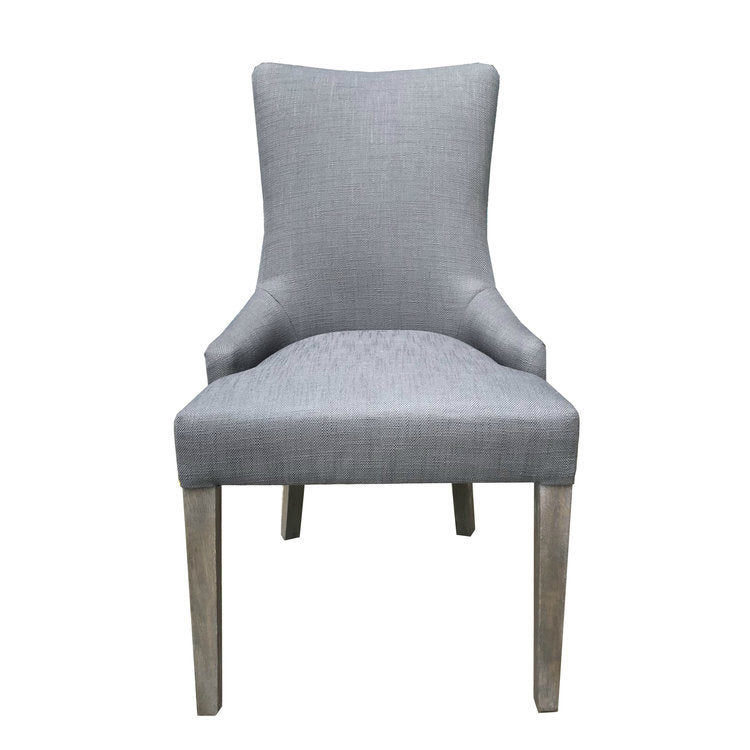 Anna Side Chair - Gray + Gray Wash