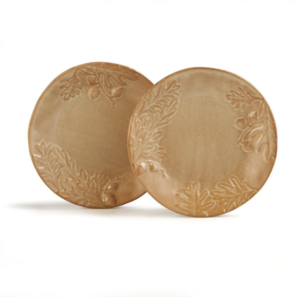 Biltmore Inspirations Olmsted Oak Salad Plates - Set of 2
