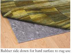 Area Rug Pad - Luxury - Dual Use