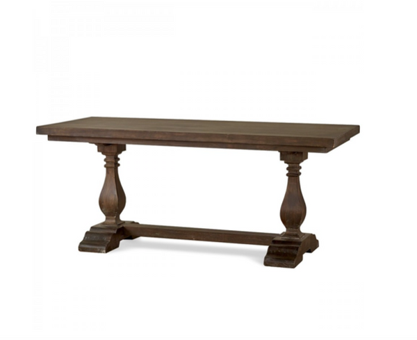 "Weston 72'"" Mahogany Dining Table - Aged Honey"