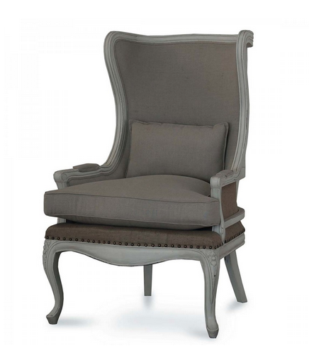 Brittany Mahogany Wing Chair