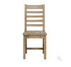 Luke Dining Chair - Charcoal Wash