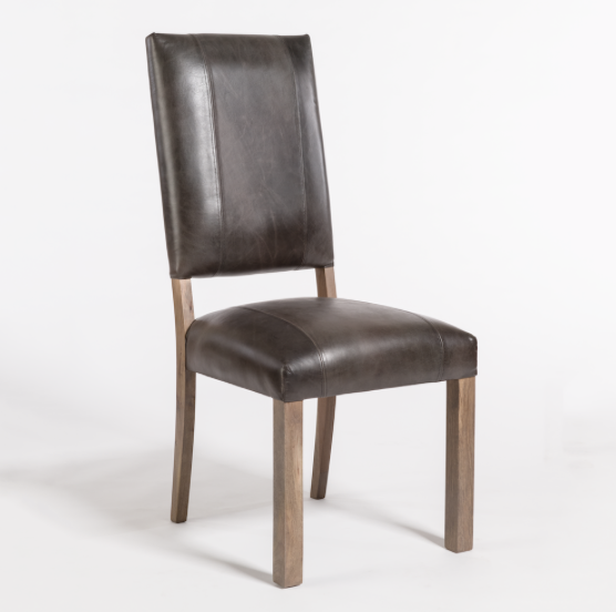 Bryce Dining Chair - Slate Leather + Ash