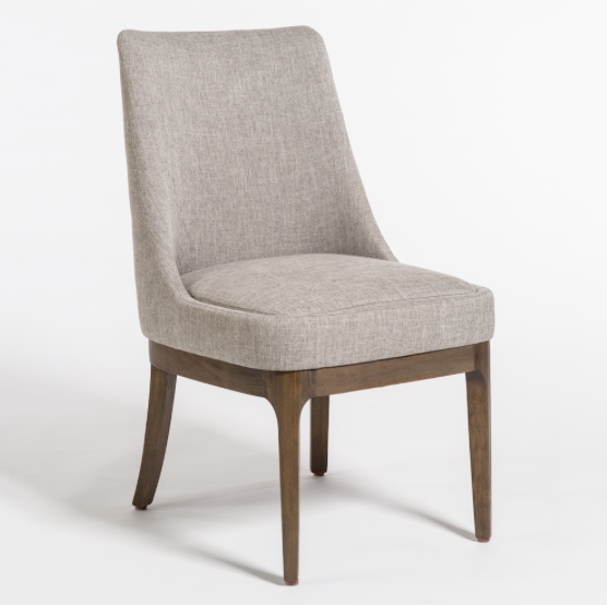 Danson Dining Chair - Granite + Beechwood