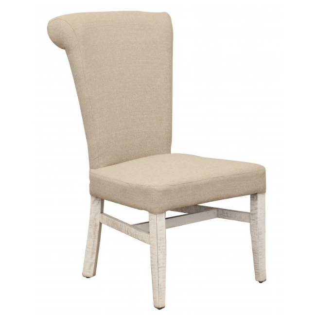 Branson Dining Chair - Ivory + Stone