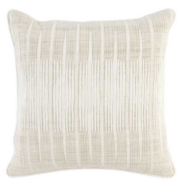 Avery 20x20 Pillow - Ivory/Natural