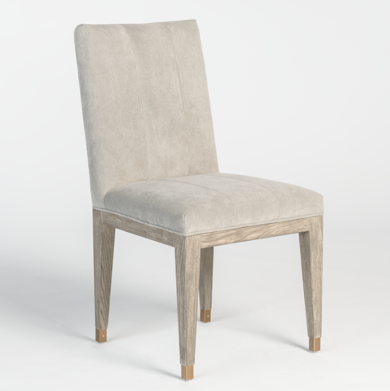 Samara Dining Chair - Dove + Gray Wash