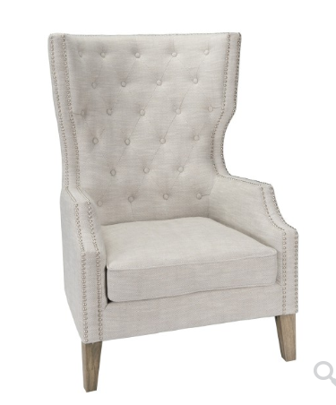 Alisa Club Chair - Gray