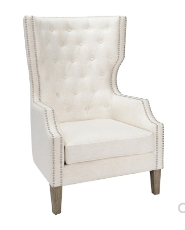 Alisa Club Chair - Ivory