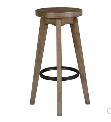 Christin Reclaimed Pine Bar Stool