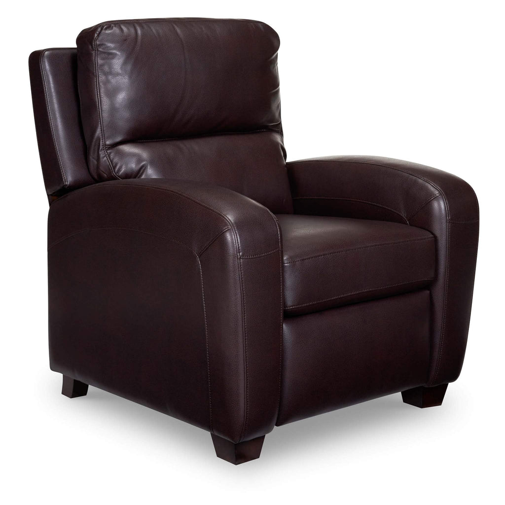 Bruce Leather Recliner - Brown