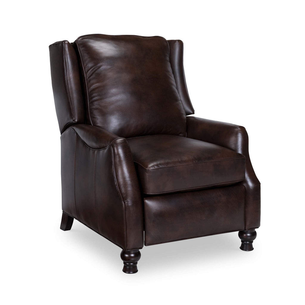 Chadwick Leather Recliner - Chocolate