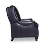 Chadwick Leather Recliner - Navy