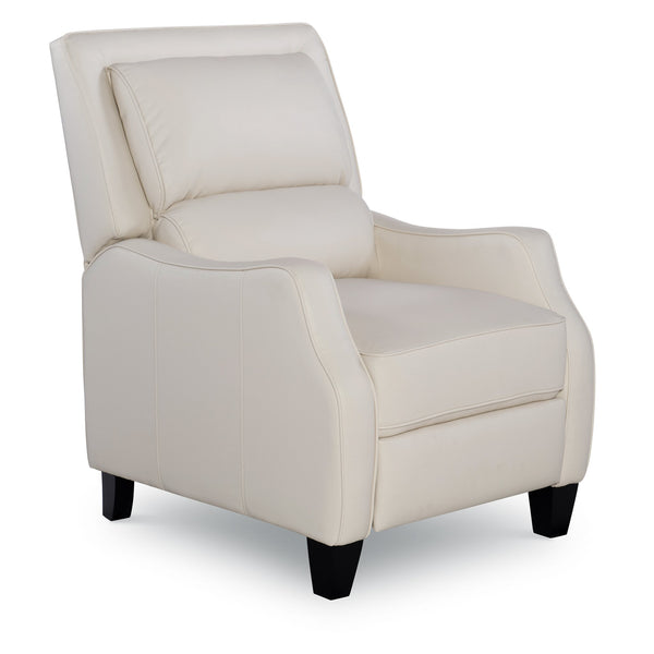 Dunston Leather Recliner - White