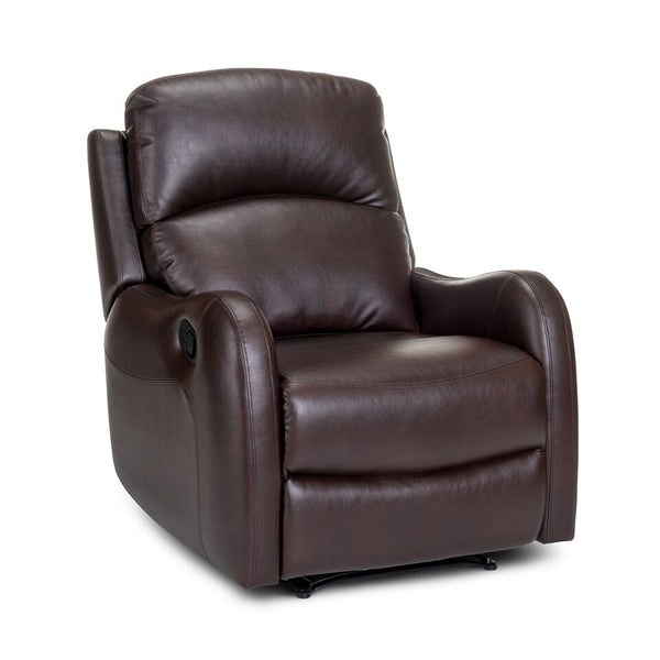 Garth Wall-Hugger Leather Recliner - Cocoa