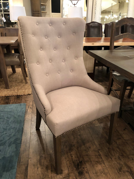 Bromley End Chair - Sand & Antique Gray