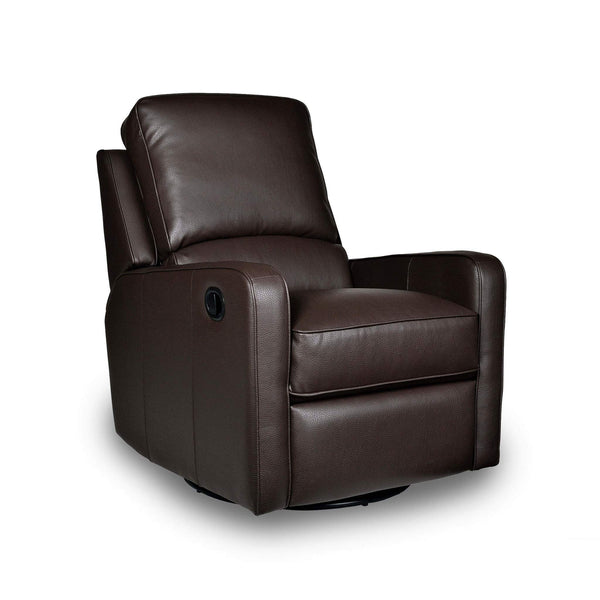 Percy Swivel Glider Recliner - Mocha
