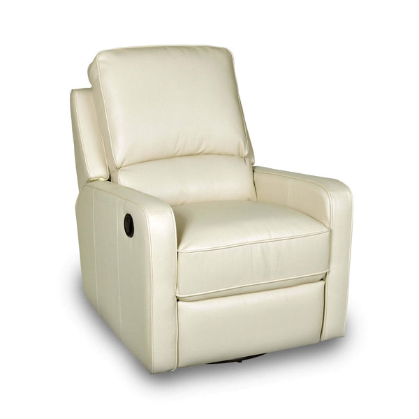 Percy Swivel Glider Recliner - Cream