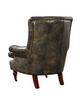 Tufted Iredell Leather Chair
