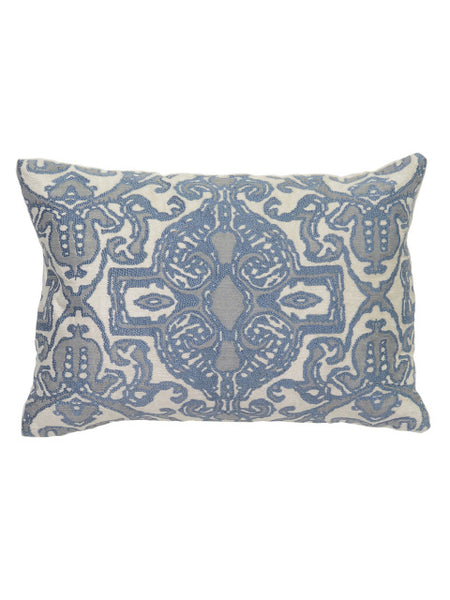 Adore Pearle 14x20 Pillow - Ivory/Storm