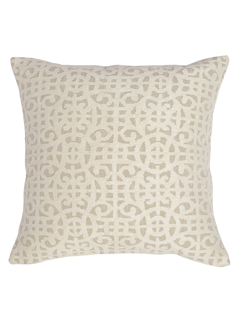 Montego 22x22 Pillow - Ivory