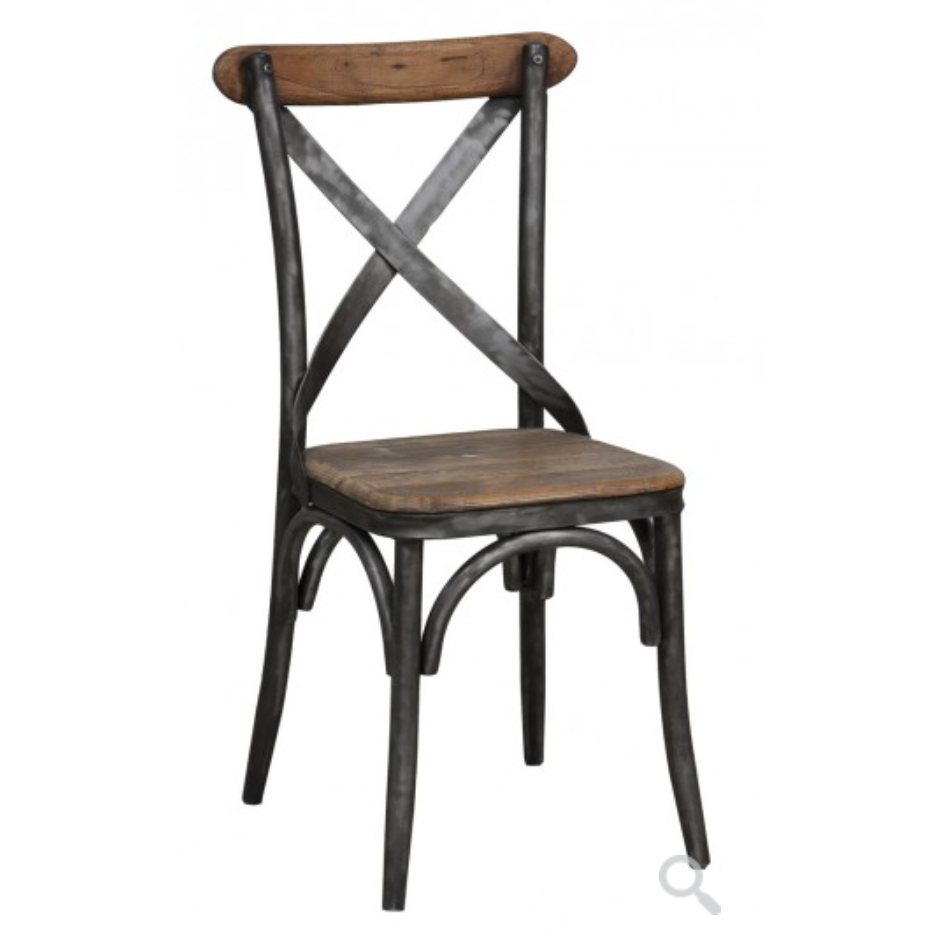 Harper Iron Wood Side Chair Vintage Home Charlotte