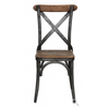 Harper Iron + Wood Side Chair