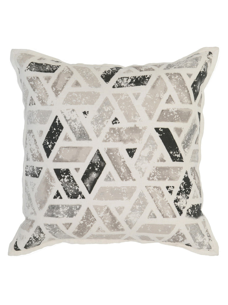 Finn 18x18 Pillow - Onyx Multicolor