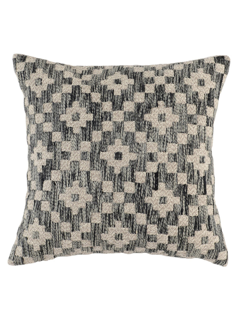 Perot 22x22 Pillow - Onyx