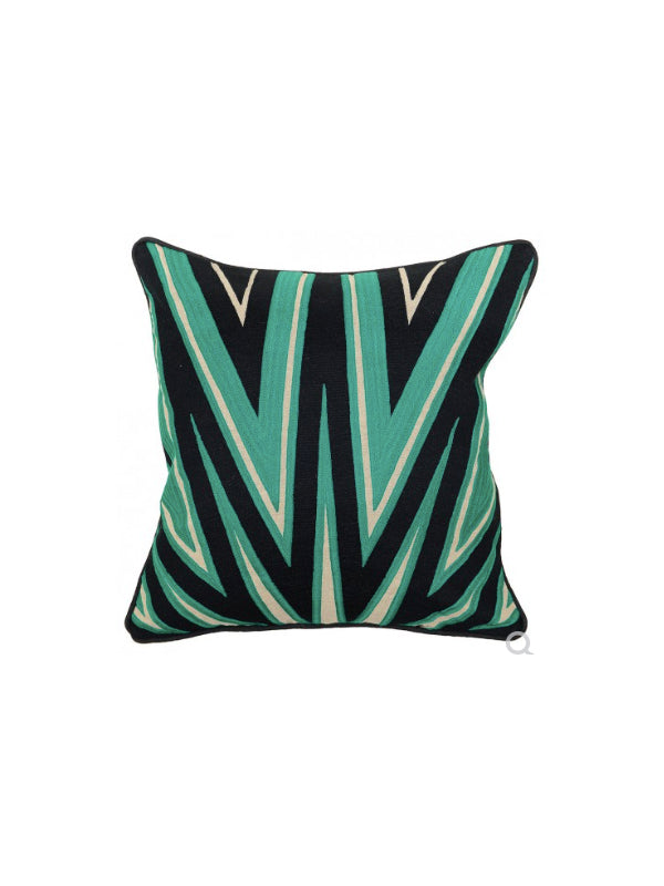 Becca 18x18 Pillow - Emerald