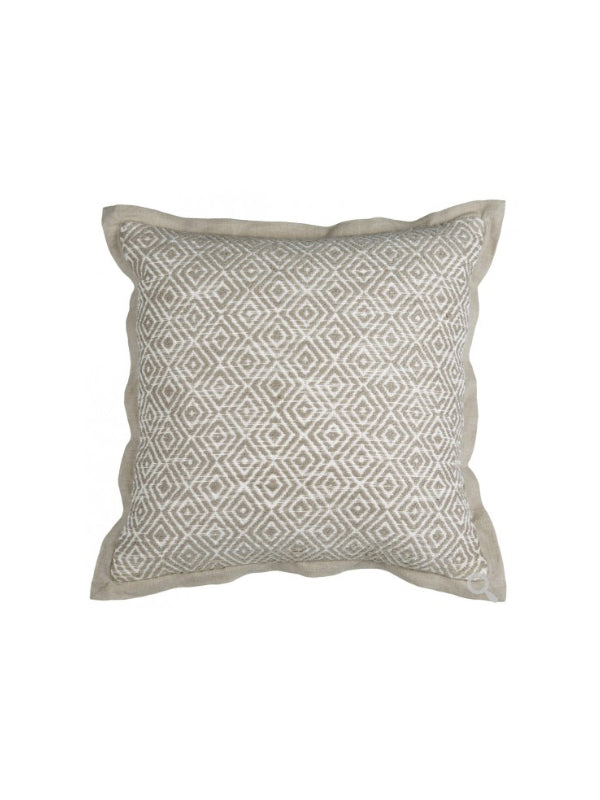 Benita 18x18 Pillow - Ivory/Natural