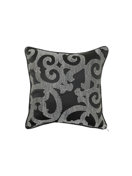 Ava 18x18 Pillow - Charcoal