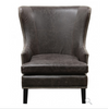 Cordon Leather Club Chair - Chocolate