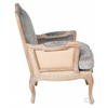Blair Club Chair - Platinum