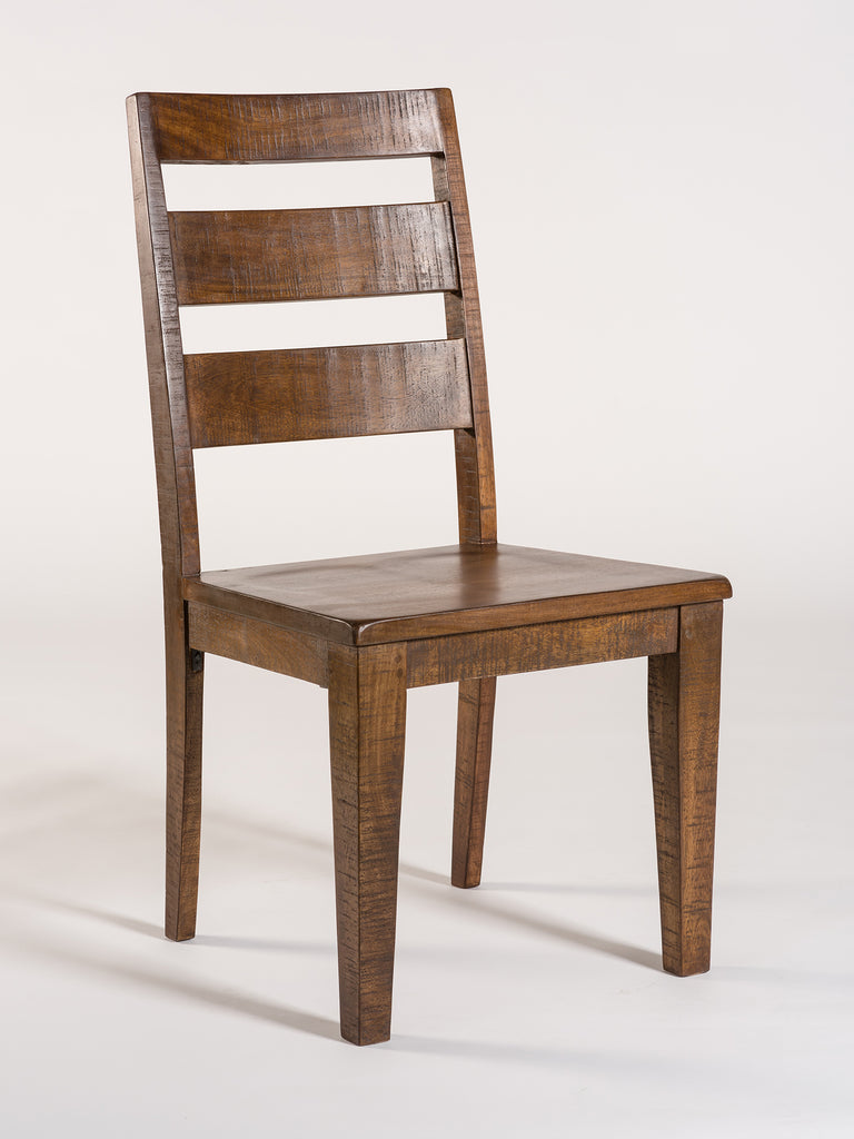 Niagara Wood Dining Chair - Aged Sable