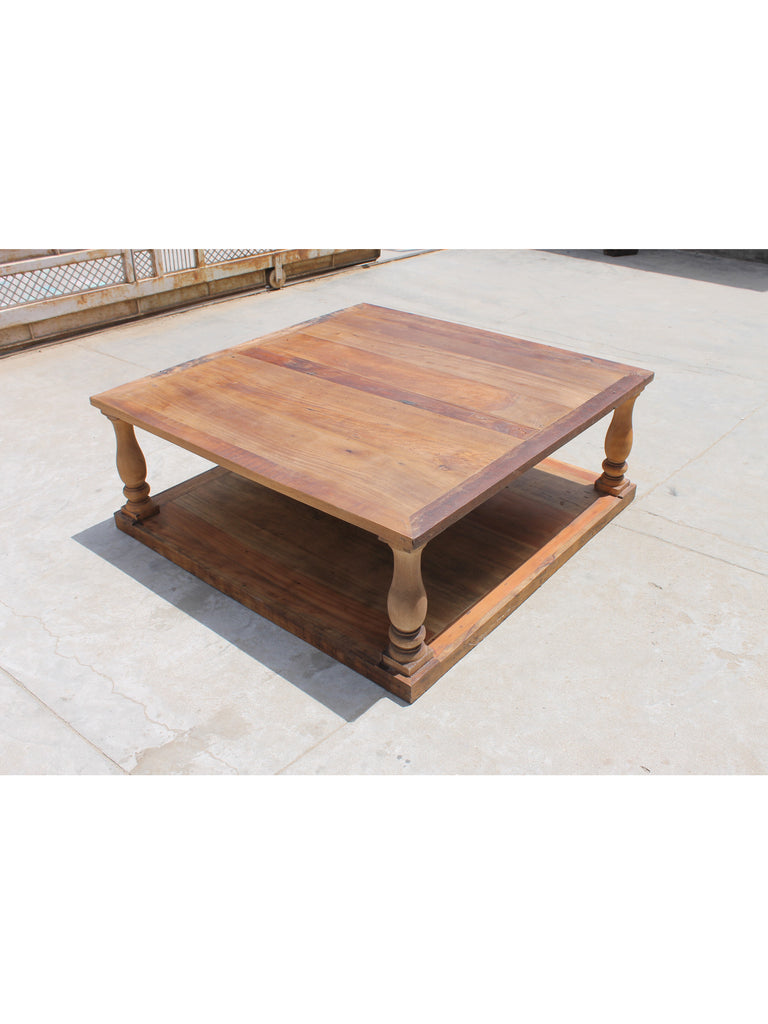 Clark 40 square coffee table vintage home charlotte clark 40 watchthetrailerfo