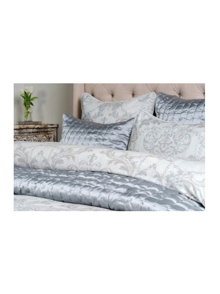 Adore Velvet Duvet Collection - Storm - Queen
