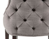 Boulevard Dining Chair - Smoke Fabric