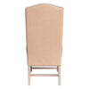 Bristol Arm Chair - Oatmeal Linen w/Burlap Back